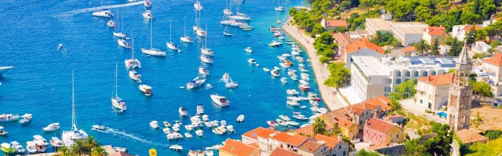 Hvar Croatia and surrounding islands