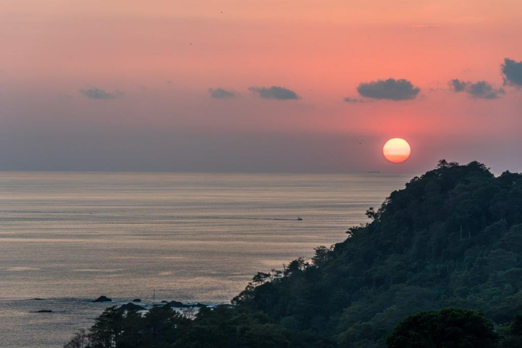 Sunset at Manuel Antonio Costa Rica