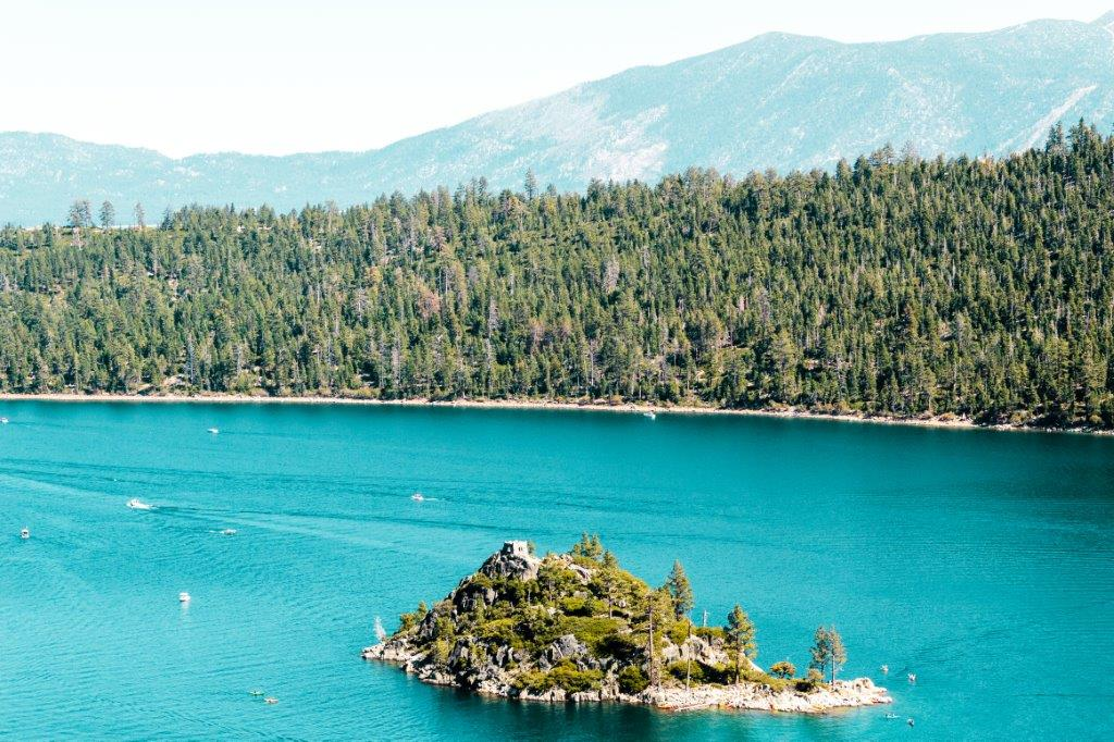 Haunted Island at Emerald Bay and Lake Tahoe