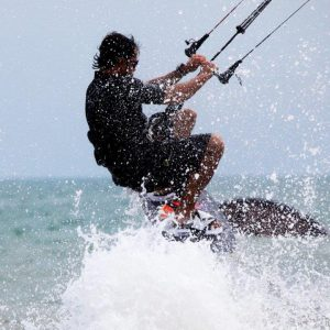 Extreme Kite Surfer