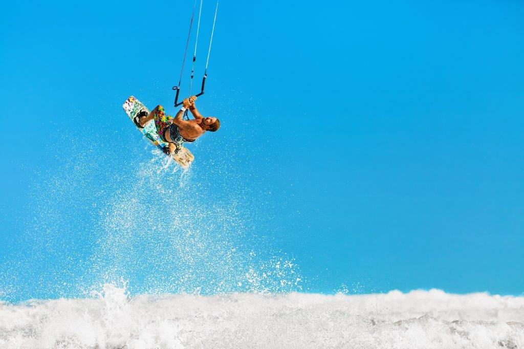 kiteboarding to the extreme